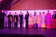 Liebe-weben Scharwenka Streichquartett mit Hans-Ludwig Raatz, Eurythmie projekt ensemble Witten