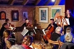 Liebe-weben Scharwenka Streichquartett mit Hans-Ludwig Raatz, Nina Nussbaum - Gesang